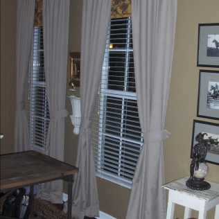 Custom Drapes and Blinds