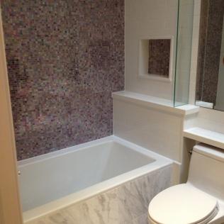mosaic tub